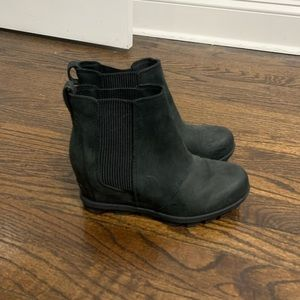 Sorel Black Booties